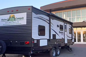 Maine Campah Rentals - for camping, or backyard
