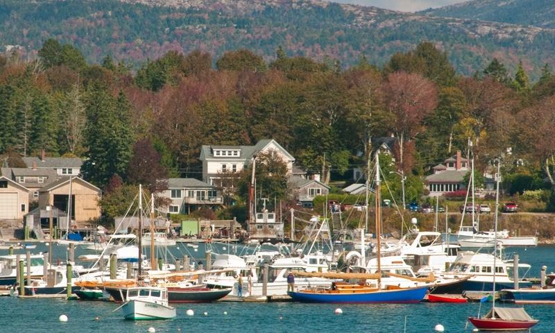 Bar Harbor Maine Southwest Harbor Marina Marinas Boats Boating